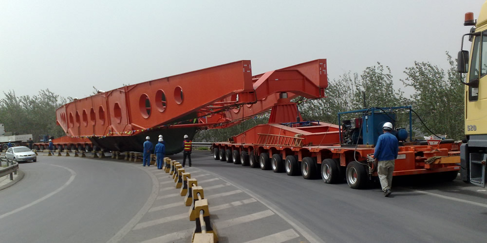 400 tons heavy haul trailer
