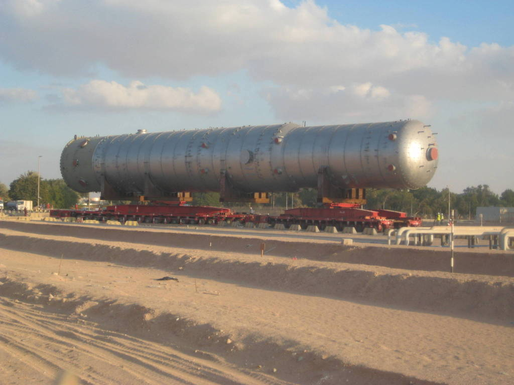 3,000 tons turntable bolster for ALE UAE