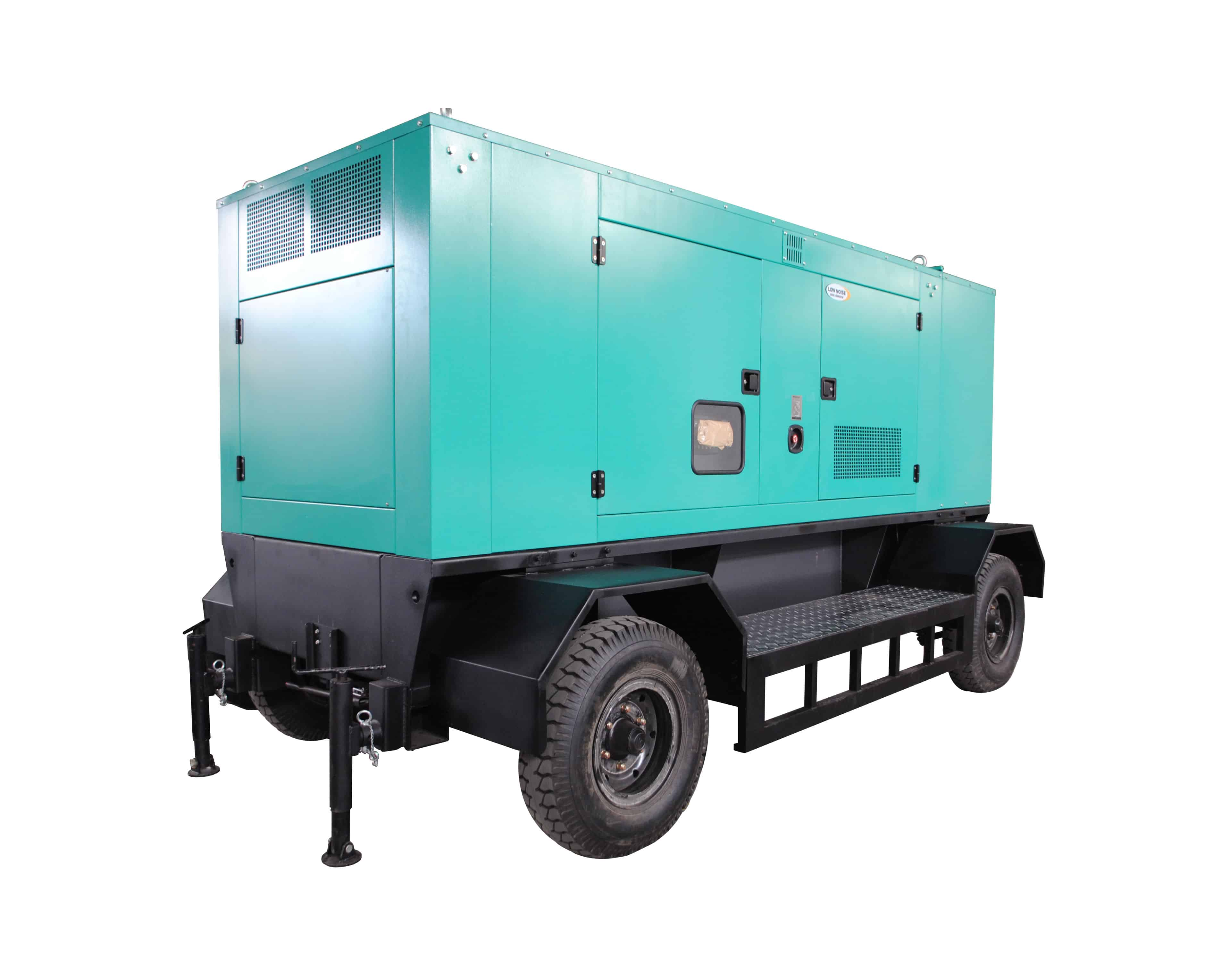 2 axles generator trailer