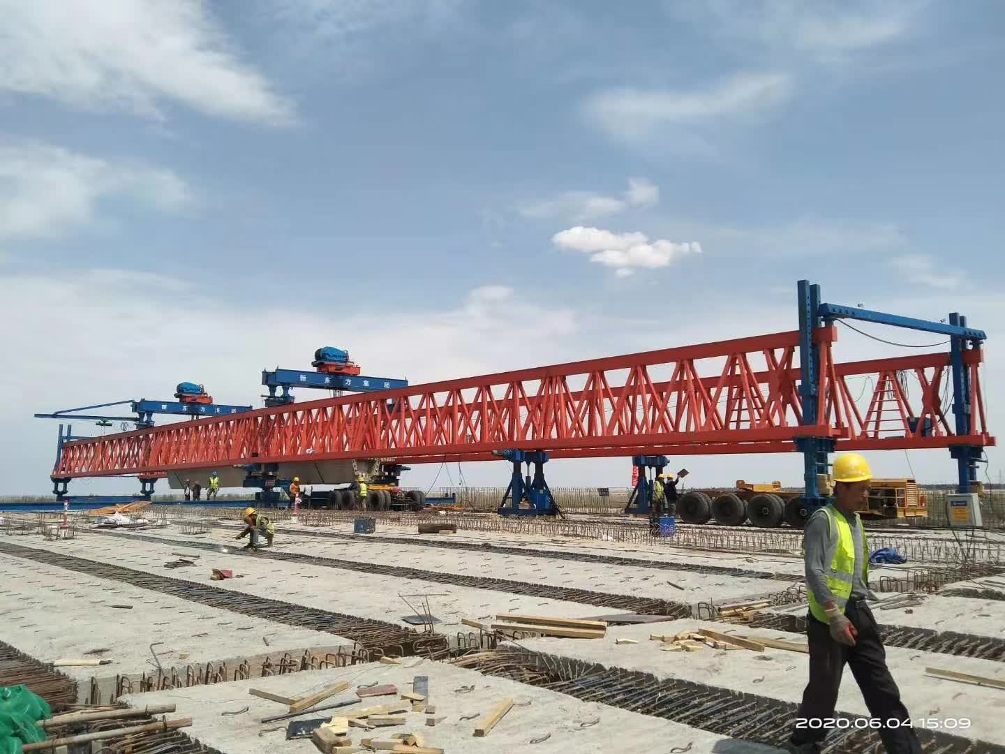 200 tons bridge beam trailer