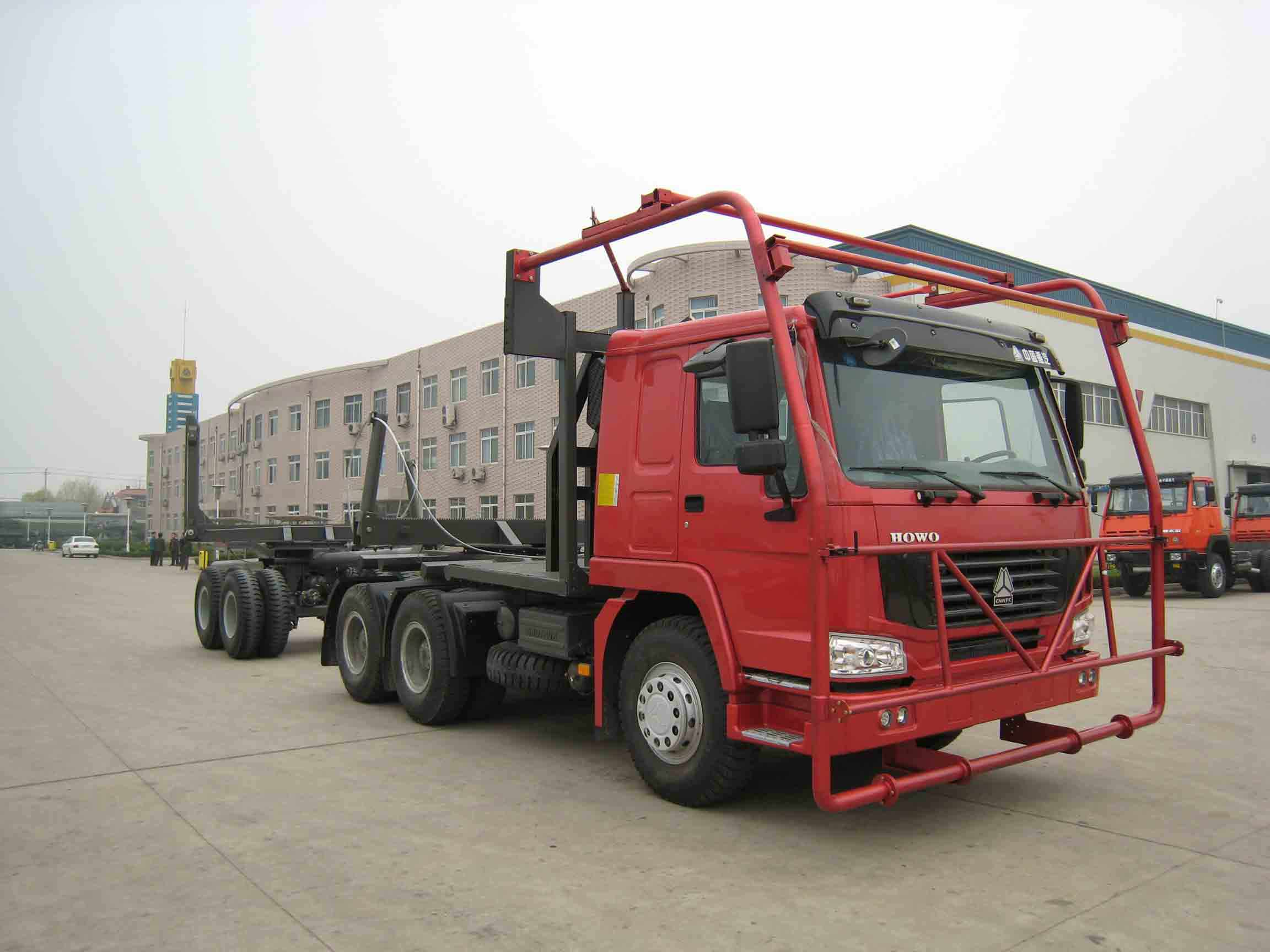 SINOTRUK HOWO timber trailer