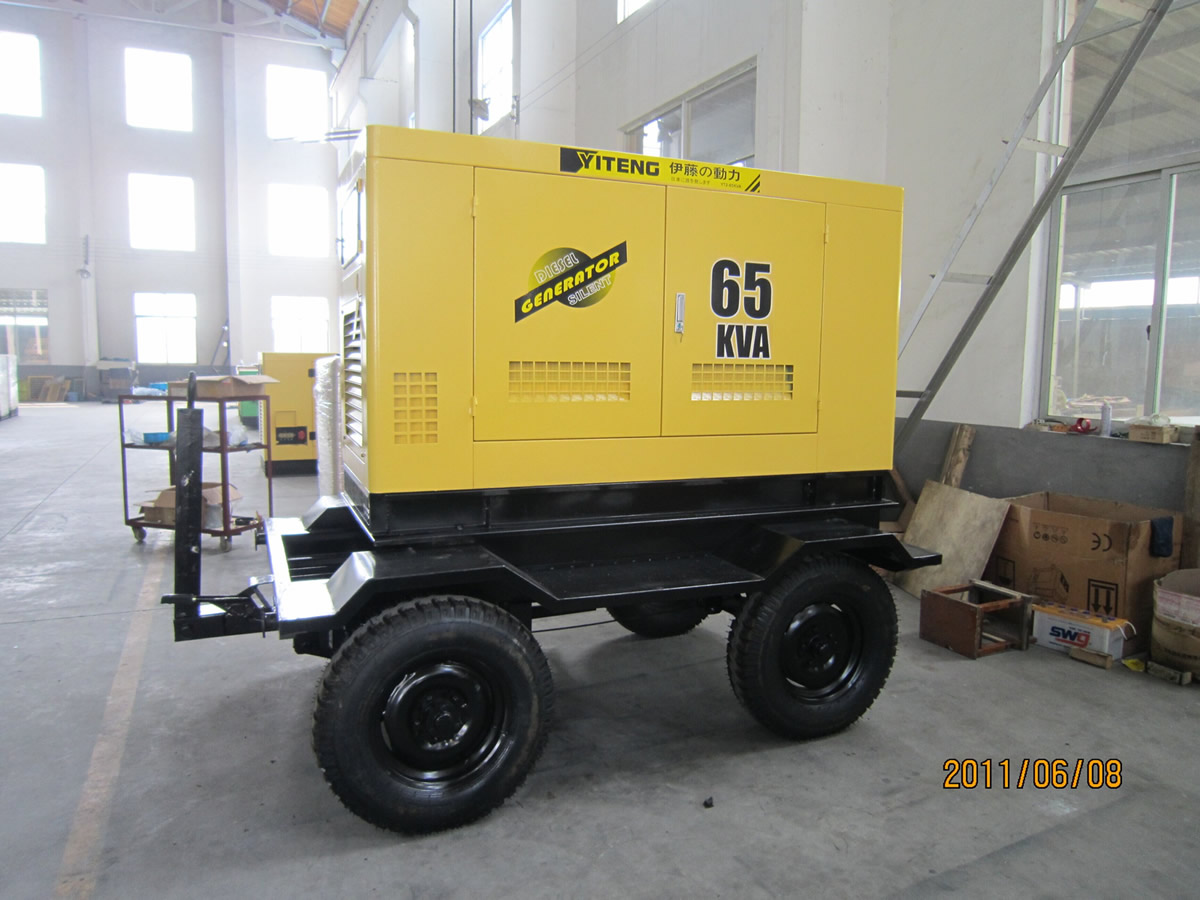 Emergency Generator Trailer