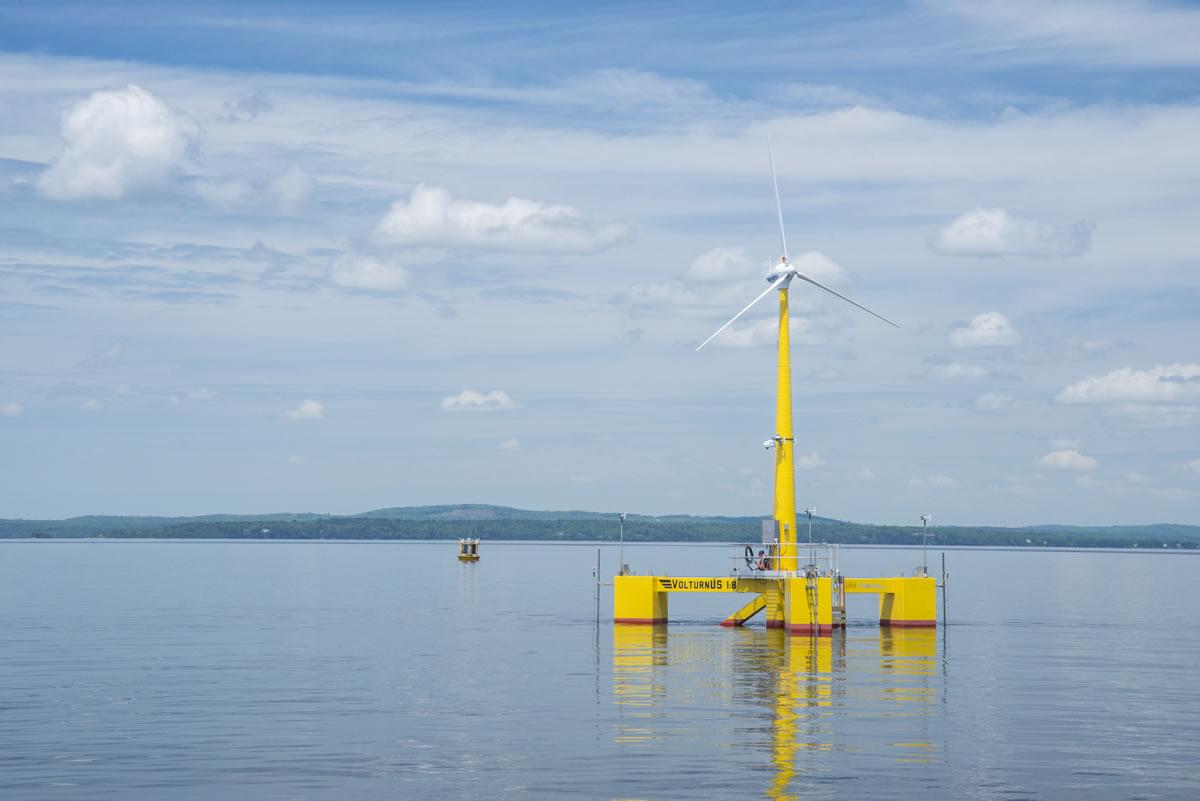 浮动式海上风力发电机
