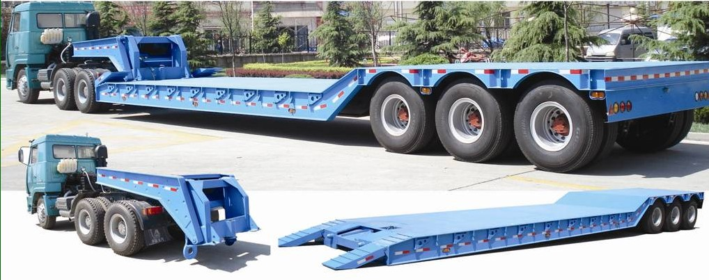 Front loading trailer