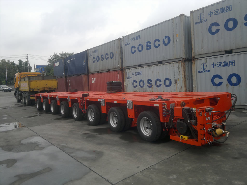 Goldhofer THP/SL modular trailer