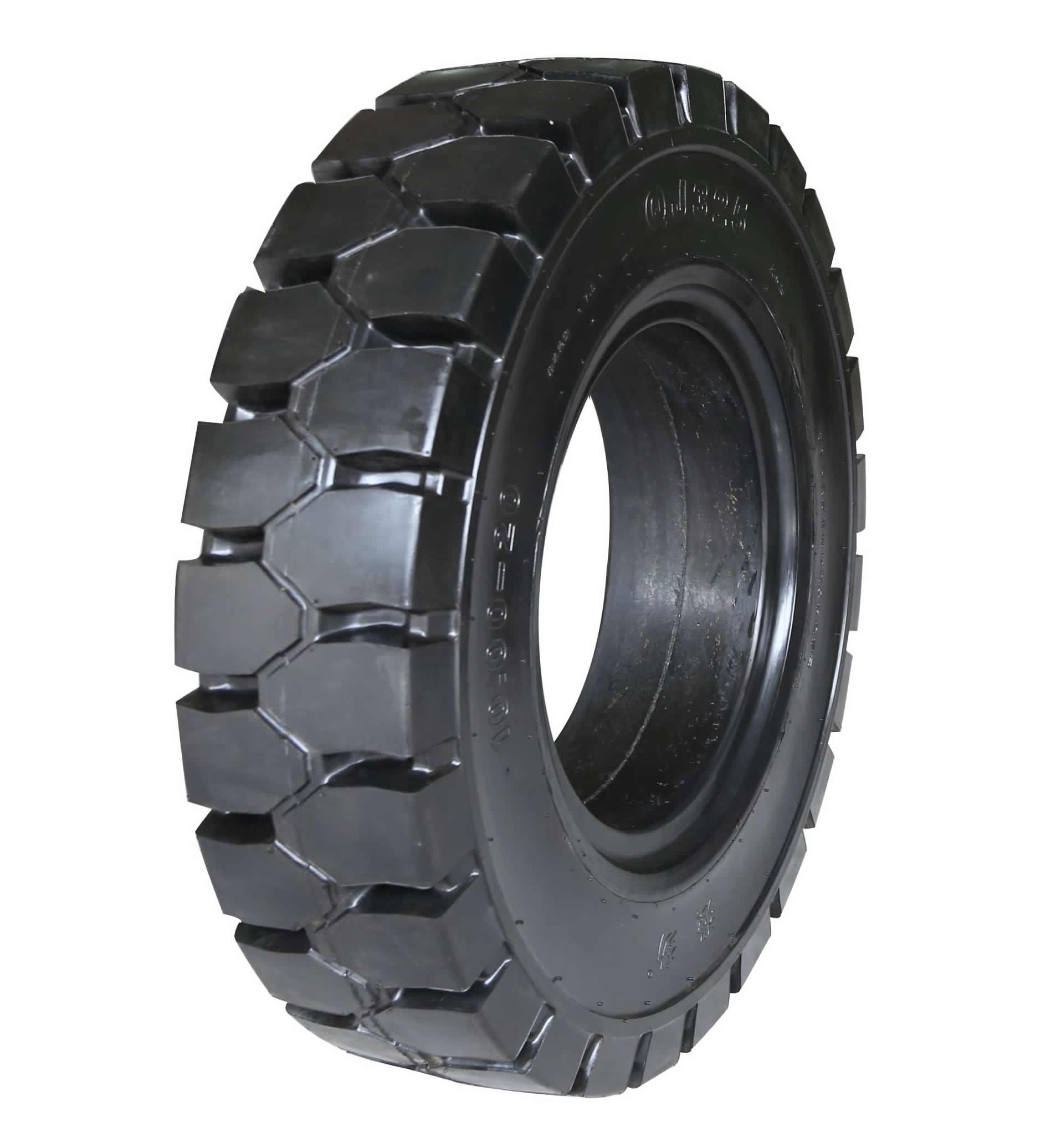 Industrial solid tires