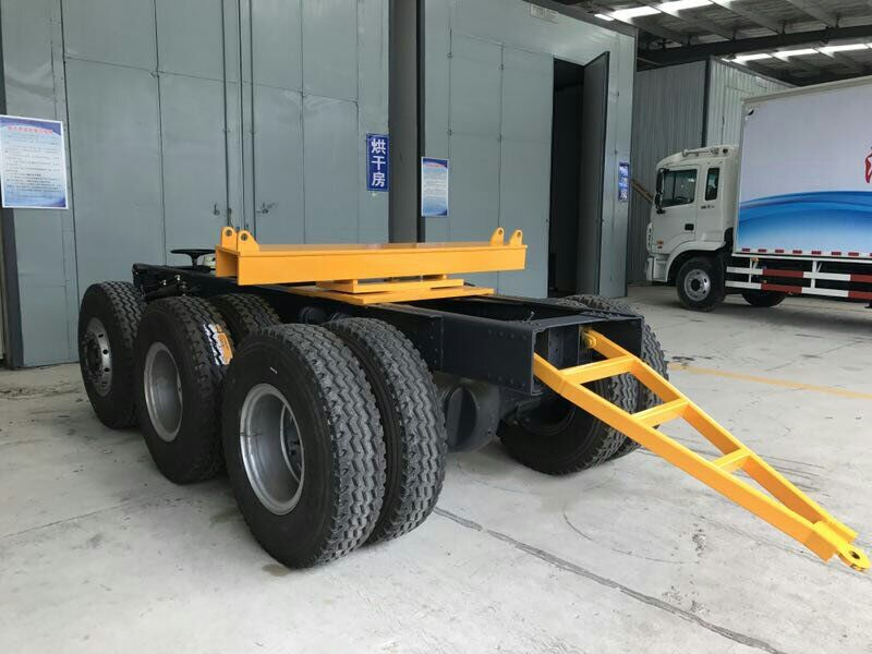 Long beam steering dolly