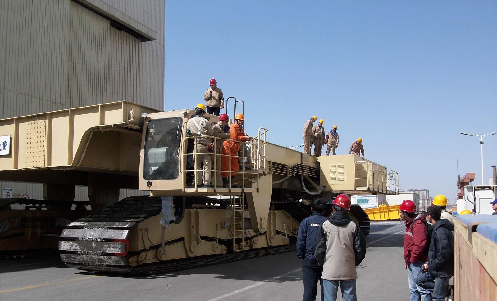 Mud flat transporter