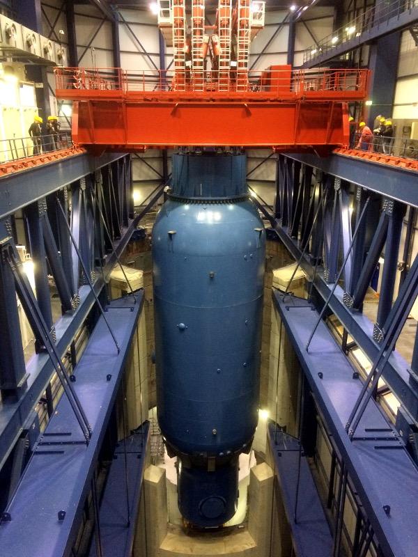 2000吨核反应罐拆除运输