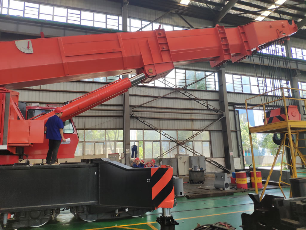 Railroad crane testing