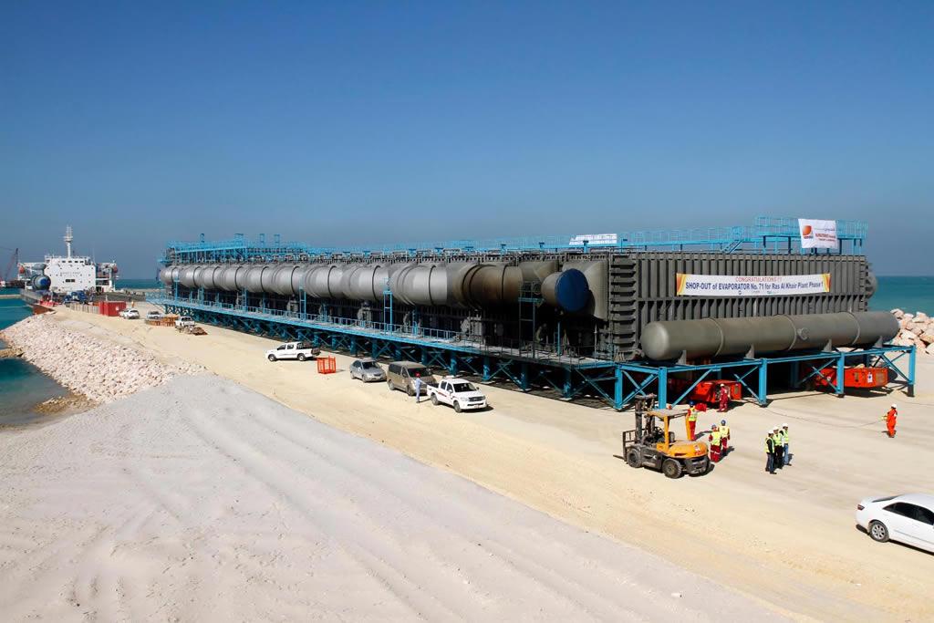 海水淡化设备运输