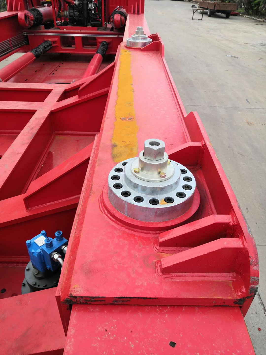 Four points weighing system, effectively guarantee COG safety